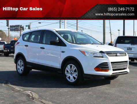 2014 Ford Escape for sale at Hilltop Car Sales in Knox TN