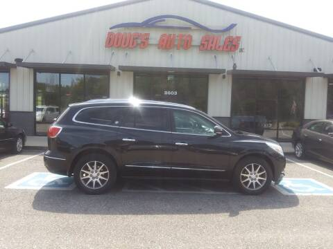 2014 Buick Enclave for sale at DOUG'S AUTO SALES INC in Pleasant View TN