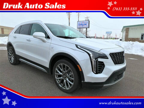 2020 Cadillac XT4 for sale at Druk Auto Sales in Ramsey MN