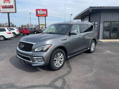 2017 Infiniti QX80 for sale at Welcome Motor Co in Fairmont MN