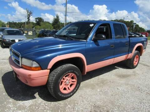 2004 Dodge Dakota for sale at AUTO EXPRESS ENTERPRISES INC in Orlando FL