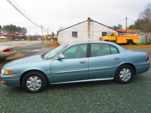2003 Buick LeSabre for sale at Wright's Auto Sales in Lancaster SC