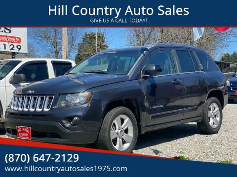 2014 Jeep Compass for sale at Hill Country Auto Sales in Maynard AR