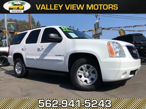 2007 GMC Yukon for sale at Valley View Motors in Whittier CA