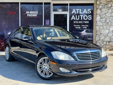 2008 Mercedes-Benz S-Class for sale at ATLAS AUTOS in Marietta GA