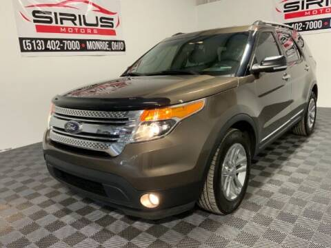 2015 Ford Explorer for sale at SIRIUS MOTORS INC in Monroe OH