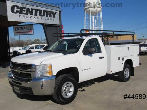 2009 Chevrolet Silverado 3500HD for sale at CENTURY TRUCKS & VANS in Grand Prairie TX