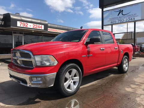 2009 Dodge Ram Pickup 1500 for sale at NORRIS AUTO SALES in Oklahoma City OK