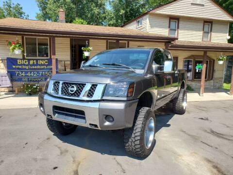 2010 Nissan Titan for sale at BIG #1 INC in Brownstown MI