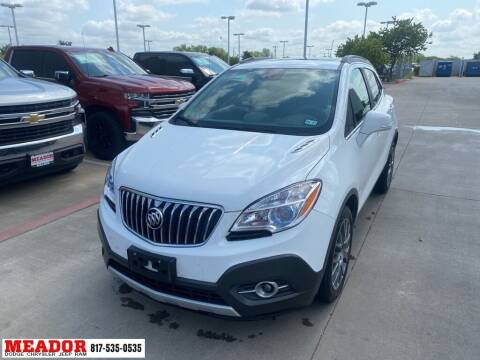 2016 Buick Encore for sale at Meador Dodge Chrysler Jeep RAM in Fort Worth TX