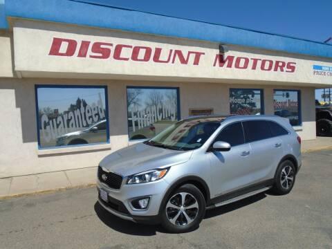 2016 Kia Sorento for sale at Discount Motors in Pueblo CO