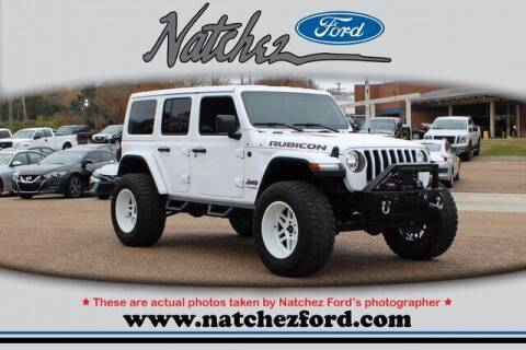 2019 Jeep Wrangler Unlimited for sale at Auto Group South - Natchez Ford Lincoln in Natchez MS