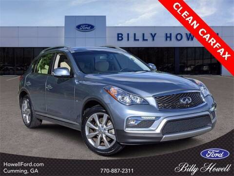 2017 Infiniti QX50 for sale at BILLY HOWELL FORD LINCOLN in Cumming GA