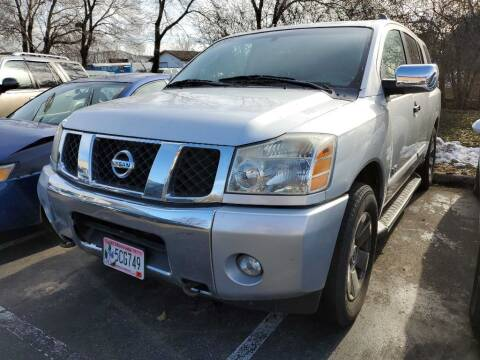 2005 Nissan Armada for sale at MIDWEST CAR SEARCH in Fridley MN
