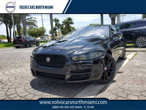 2017 Jaguar XE for sale at Volvo Cars North Miami in Miami FL