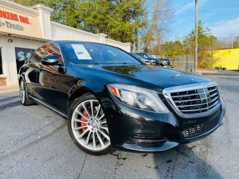 2014 Mercedes-Benz S-Class for sale at North Georgia Auto Brokers in Snellville GA