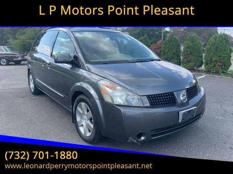 2004 Nissan Quest for sale at L P Motors Point Pleasant in Point Pleasant NJ