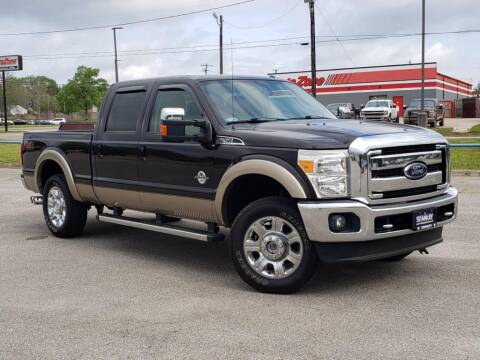 2013 Ford F-250 Super Duty for sale at Stanley Ford Gilmer in Gilmer TX