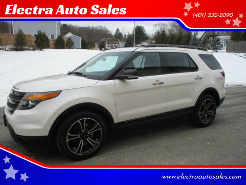2014 Ford Explorer for sale at Electra Auto Sales in Johnston RI
