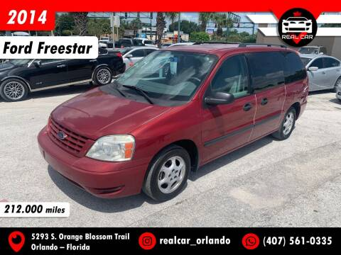 2004 Ford Freestar for sale at Real Car Sales in Orlando FL