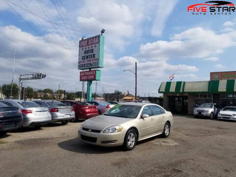 2012 Chevrolet Impala for sale at Five Star Auto Center in Detroit MI