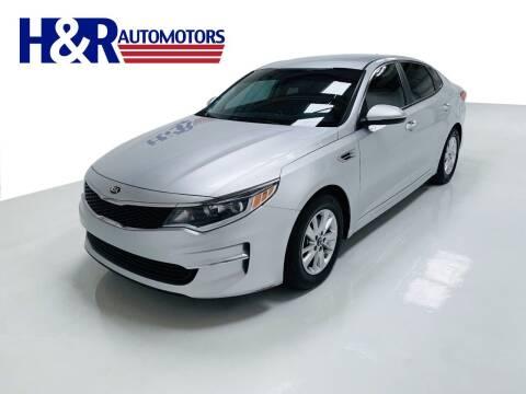 2018 Kia Optima for sale at H&R Auto Motors in San Antonio TX