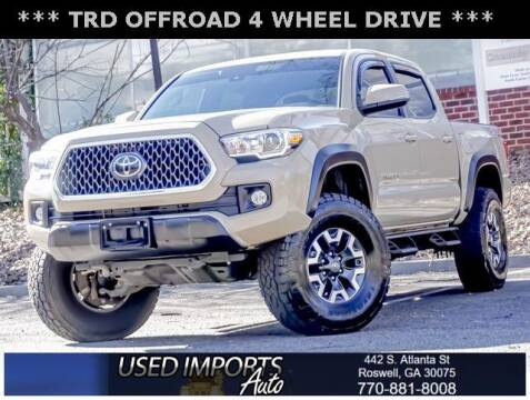 2018 Toyota Tacoma for sale at Used Imports Auto in Roswell GA