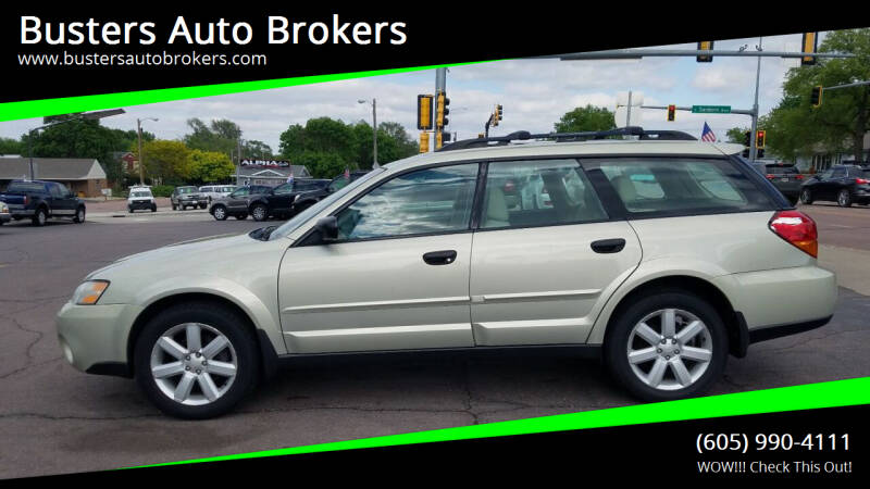 2006 Subaru Outback for sale at Busters Auto Brokers in Mitchell SD