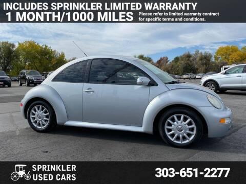 2005 Volkswagen New Beetle for sale at Sprinkler Used Cars in Longmont CO