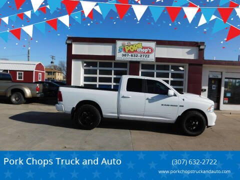 2012 RAM Ram Pickup 1500 for sale at Pork Chops Truck and Auto in Cheyenne WY