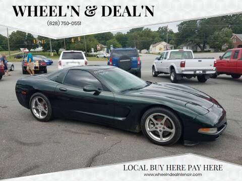 2001 Chevrolet Corvette for sale at Wheel'n & Deal'n in Lenoir NC