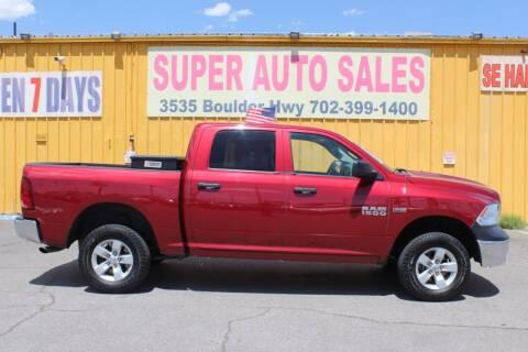 2013 RAM Ram Pickup 1500 for sale at Super Auto Sales in Las Vegas NV