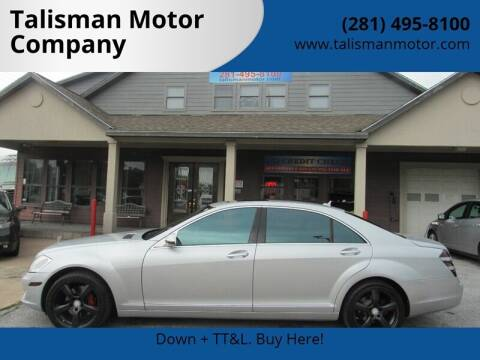 2007 Mercedes-Benz S-Class for sale at Don Jacobson Automobiles in Houston TX