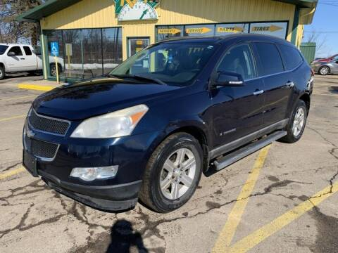 2009 Chevrolet Traverse for sale at RPM AUTO SALES in Lansing MI