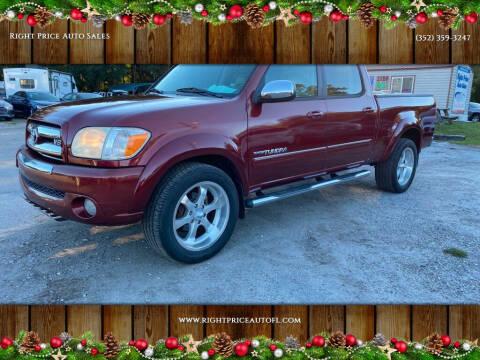 2006 Toyota Tundra for sale at Right Price Auto Sales in Waldo FL