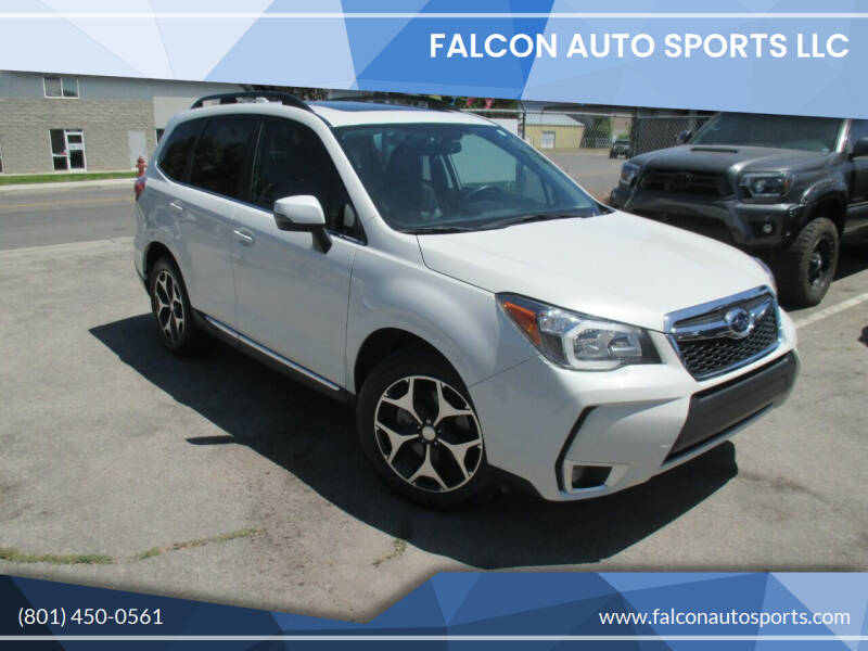 2016 Subaru Forester for sale at Falcon Auto Sports LLC in Murray UT