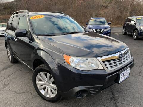 2012 Subaru Forester for sale at Bob Karl's Sales & Service in Troy NY