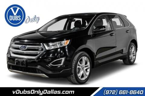2016 Ford Edge for sale at VDUBS ONLY in Dallas TX