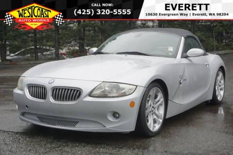2005 BMW Z4 for sale at West Coast Auto Works in Edmonds WA