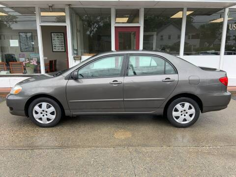 2008 Toyota Corolla for sale at O'Connell Motors in Framingham MA