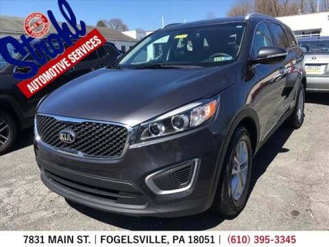 2017 Kia Sorento for sale at Strohl Automotive Services in Fogelsville PA