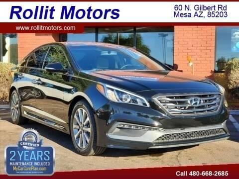 2016 Hyundai Sonata for sale at Rollit Motors in Mesa AZ