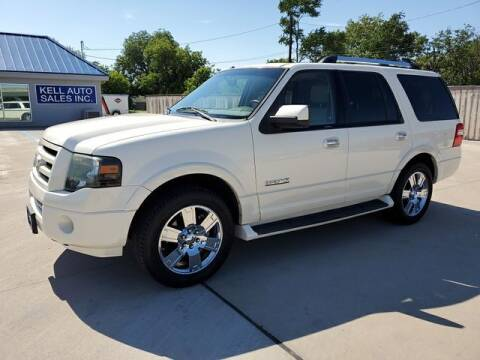 2008 Ford Expedition for sale at Kell Auto Sales, Inc - Grace Street in Wichita Falls TX