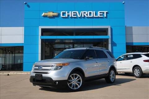 2013 Ford Explorer for sale at Lipscomb Auto Center in Bowie TX