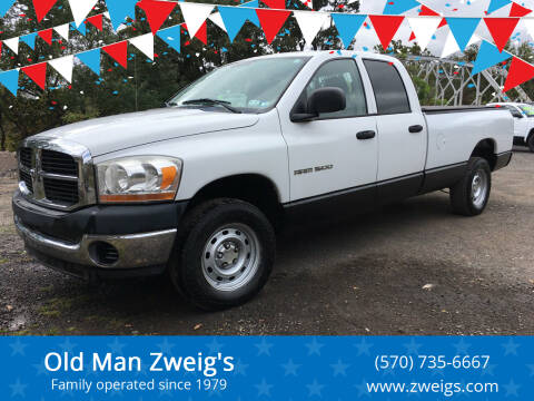 2006 Dodge Ram Pickup 1500 for sale at Old Man Zweig's in Plymouth PA