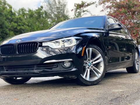2018 BMW 3 Series for sale at HIGH PERFORMANCE MOTORS in Hollywood FL