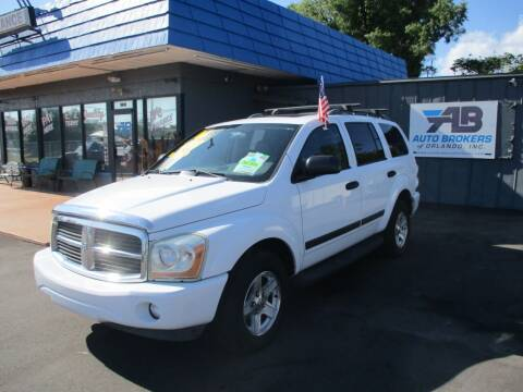 2006 Dodge Durango for sale at AUTO BROKERS OF ORLANDO in Orlando FL