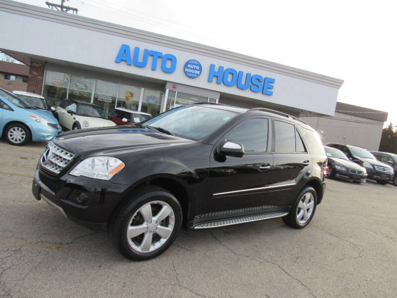 2009 Mercedes-Benz M-Class for sale at Auto House Motors in Downers Grove IL