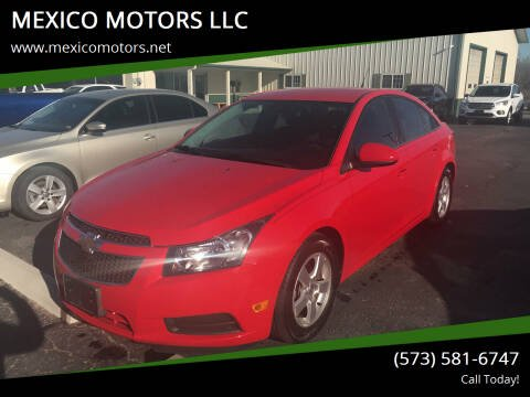 2014 Chevrolet Cruze for sale at MEXICO MOTORS LLC in Mexico MO