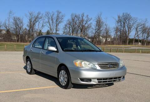 2004 Toyota Corolla for sale at Budget City Auto Sales LLC in Racine WI
